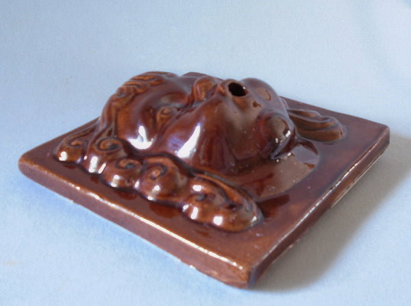 Vintage Cherub Face Fountain Spitter Tile Bungalow Bill