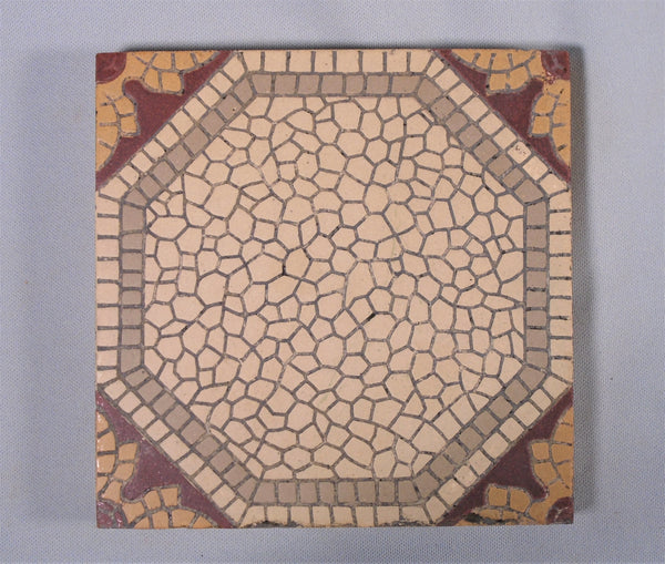 Encaustic Tile Mosaik Fabrik Sinzig Bungalow Bill Antique