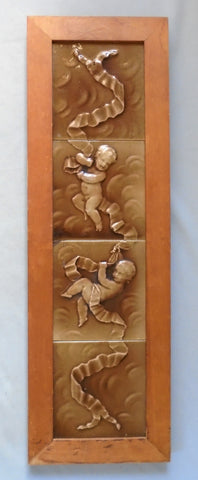 Trent Tile Issac Broome Putti Bungalow Bill Antique