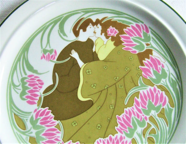 Keller Guerin Love Plate Art Nouveau Pop Art