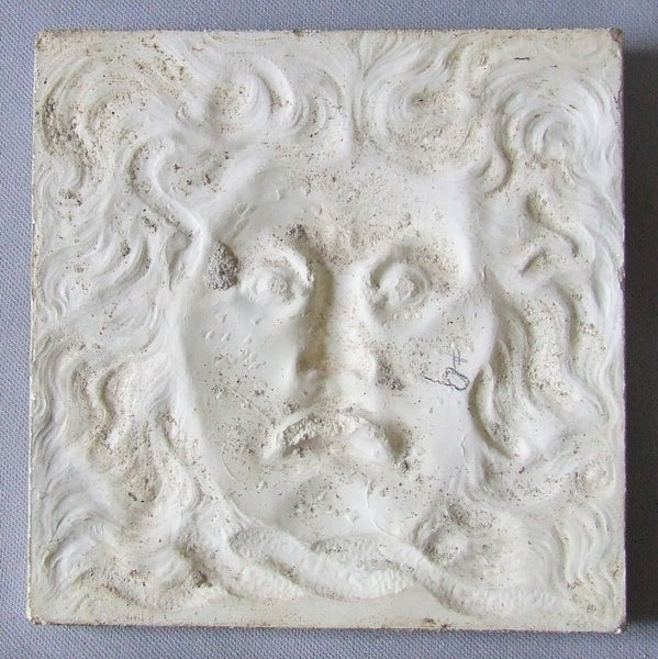 Antique Tile North Wind Faces International Tile and Trim Co of Brooklyn NY (