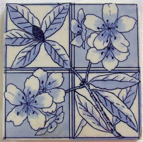 Copeland Tile Aesthetic Movement Azalea