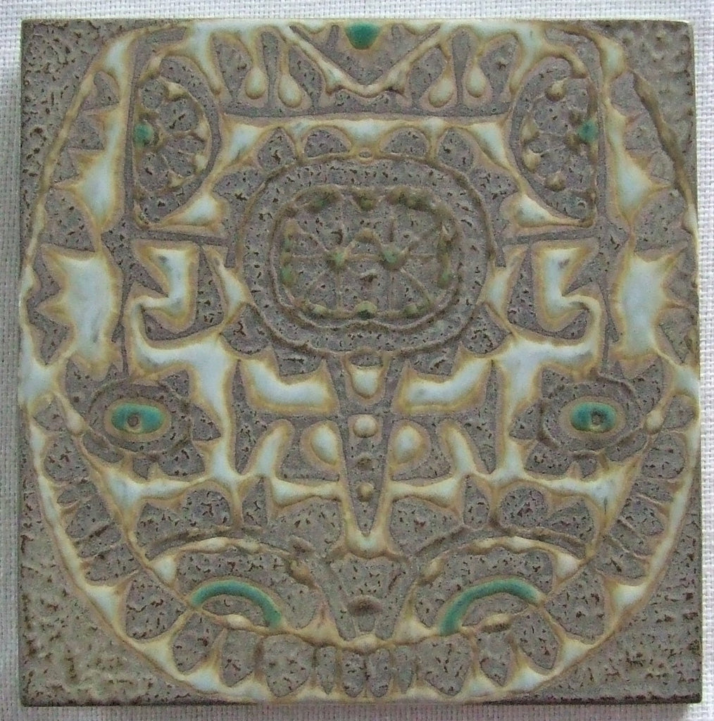 Royal Copenhagen Aluminia Faience Pottery Tile