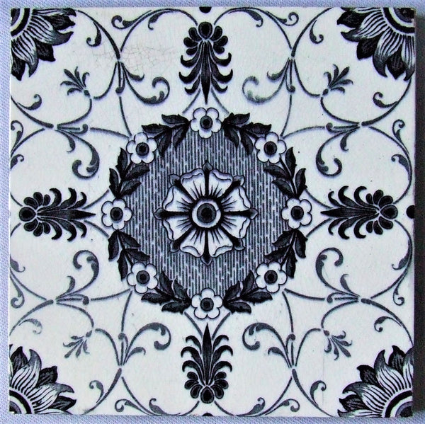 Wedgwood Tile Blue White Transferware