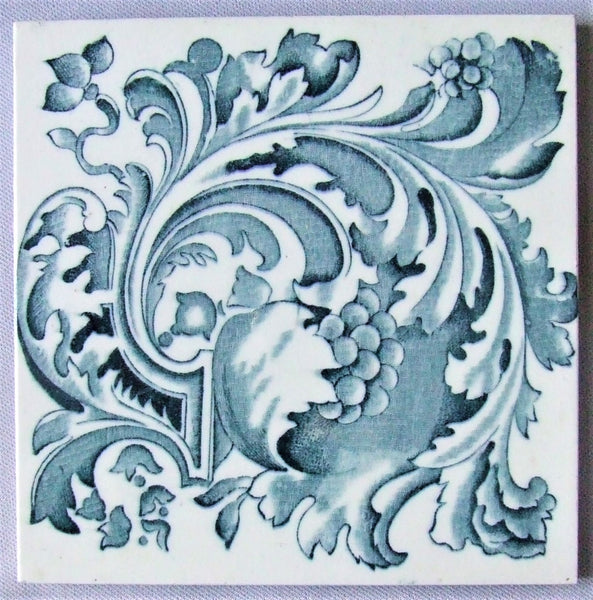 Blue & White English Transfer Tile Henry Richards