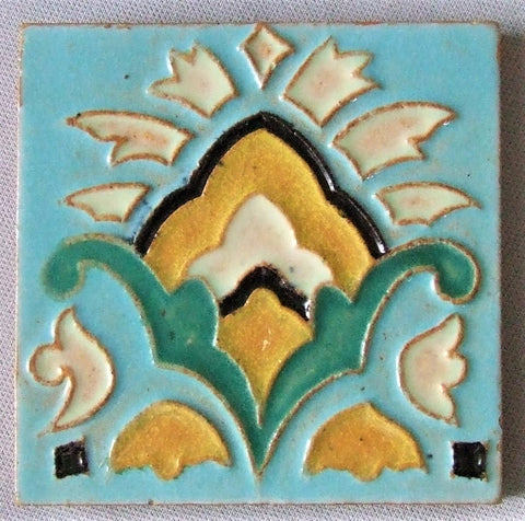 S & S Solon Schemmel San Jose Tile California Art Deco Spanish Revival