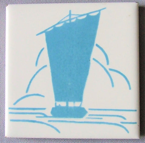 Mosaic Tile Co Sailboat