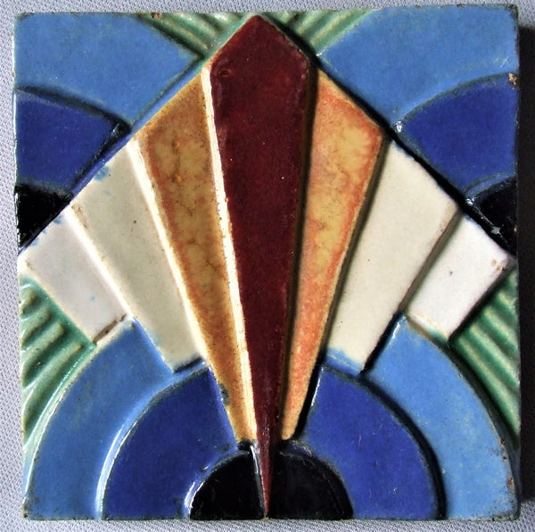 American Encaustic AETCO tile art deco