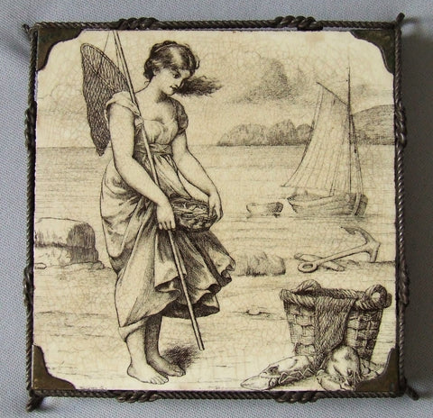 Mintons China William Wise Country Pursuits Tile Trivet