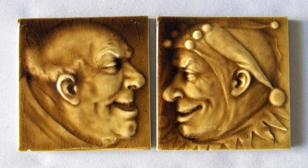 AETCO American Encaustic Fireplace Portrait Tiles