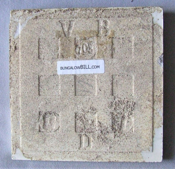 Villeroy and Boch German Secessionist Tile Panel