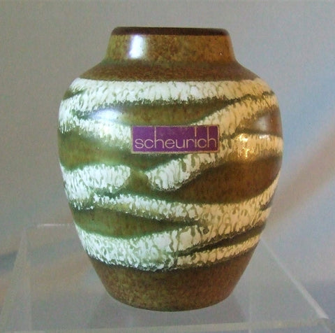 Scheurich West German Pottery Cabinet Vase