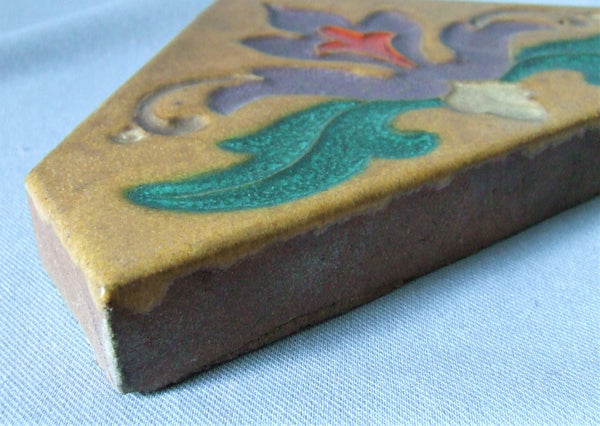 Malibu Pottery Tile Bungalow Bill Antique