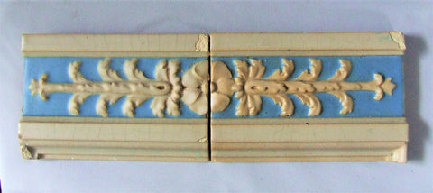 Rookwood Pottery Faience Tile Bungalow Bill Antique