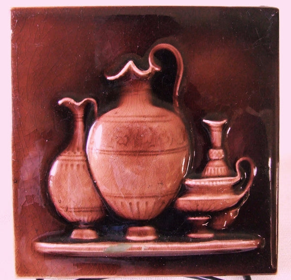 Brooklyn NY International Tile Co ITC Aesthetic Classic Greek Pottery Tablescape