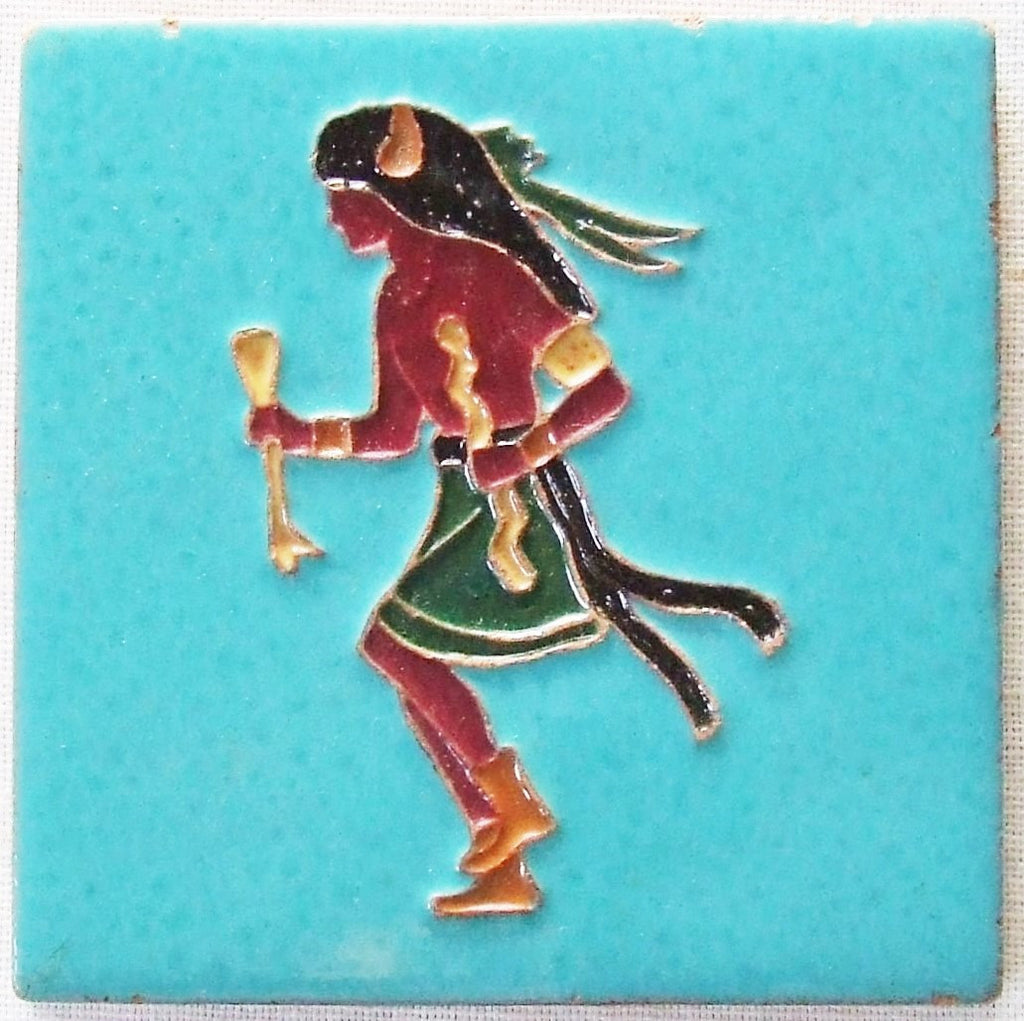 Desert House Lotz McKusick Gila Pottery Buffalo Dancer