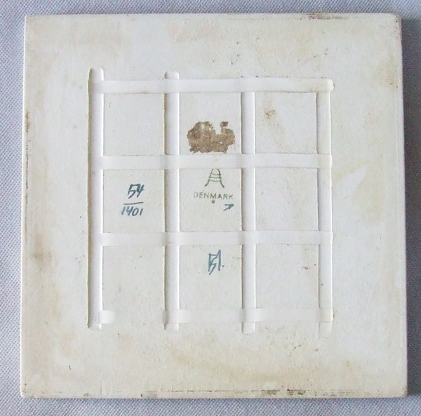 Royal Copenhagen Pottery Tile back