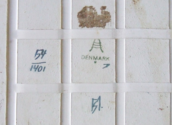 Royal Copenhagen Pottery Tile marks