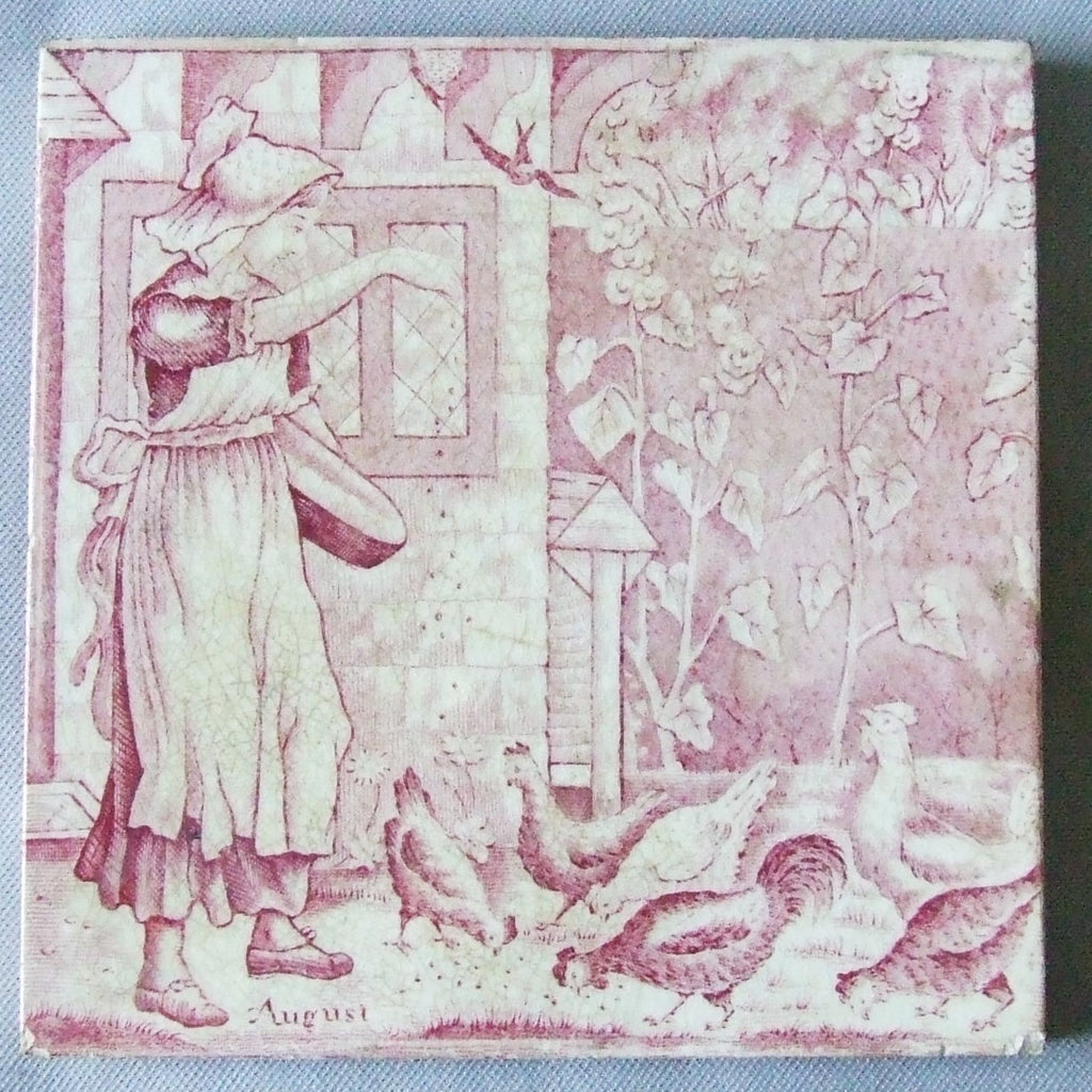 Wedgwood tile august