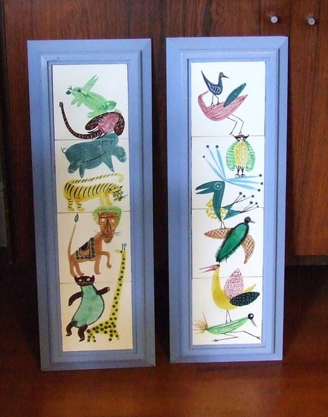 Harris Strong Tiles Animals early label