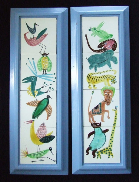 Harris Strong Tiles Nursery Animals