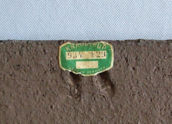 Knabstrup Wall Tile Exner label