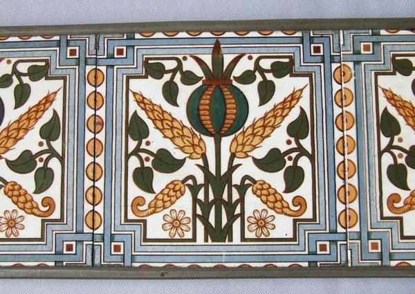 Webbs English Arts and Crafts Transfer Tile Trivet