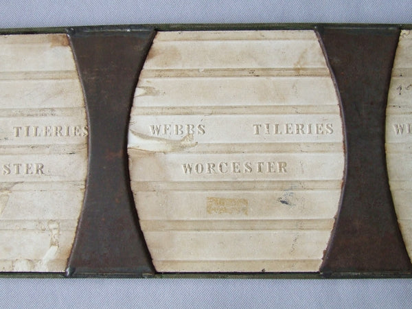 Webbs English Transfer Tile Trivet marks