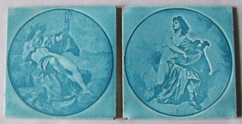 sherwin cotton tile greek mythology poseidon sirens