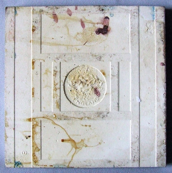 T & R Boote Tile English Art Nouveau Antique