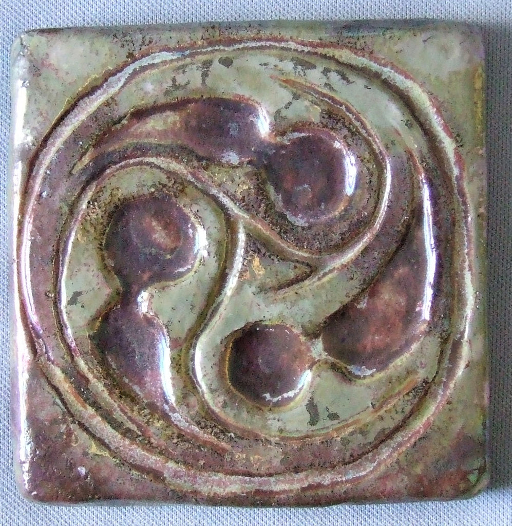 Pewabic Tile Antique