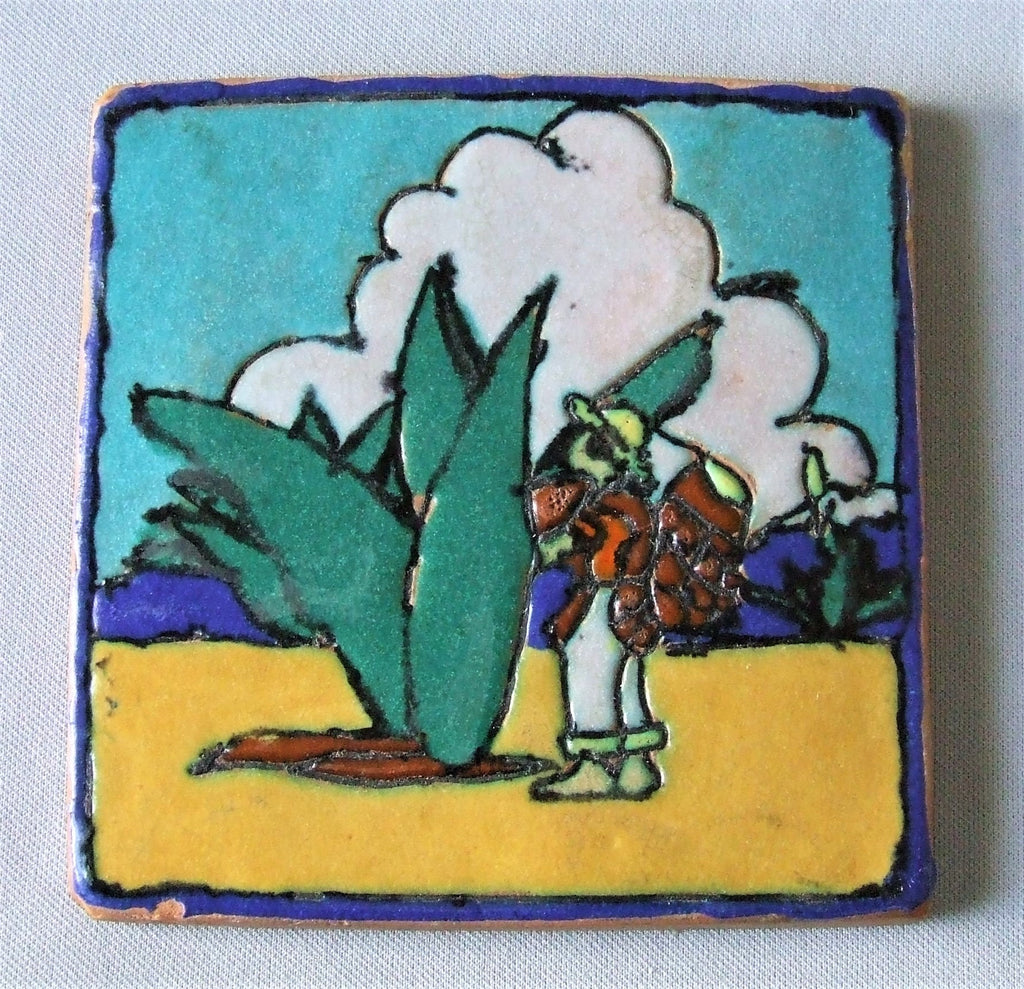 Harding Black Pottery Tile