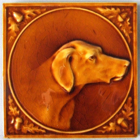 Hamilton Tile Dog Portrait
