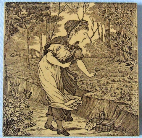 Wedgwood Tile Red Riding Hood