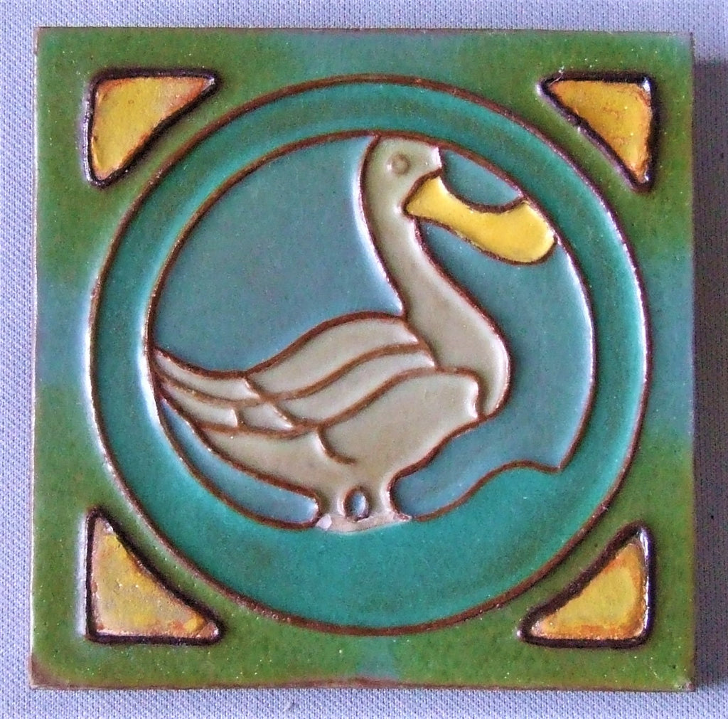 Rossman Tile Art Deco Duck
