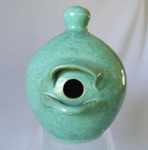 JB Cole Pottery North Carolina Birdhouse