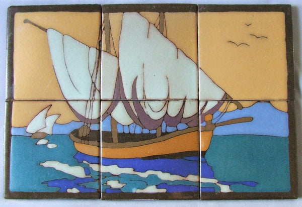 antique tile panel taylor california