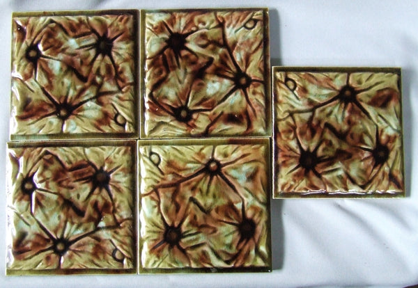 antique tile american victorian