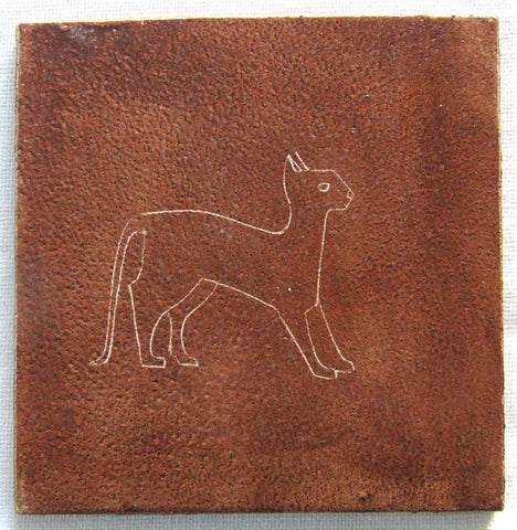 Theo & Susan Harlander Brooklin Studio Cat Tile