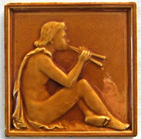 JC Edwards Tile Nude Greek Male Music