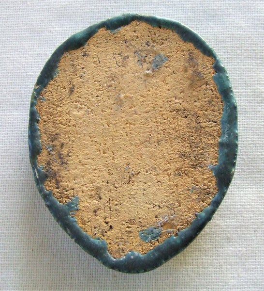 Flint Faience Tile Paperweight
