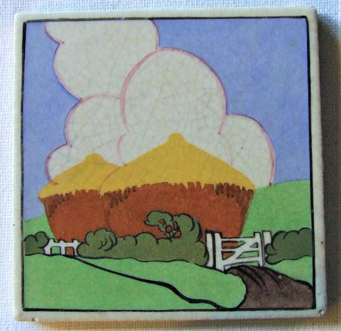 Carter Poole Farmyard Series Tile