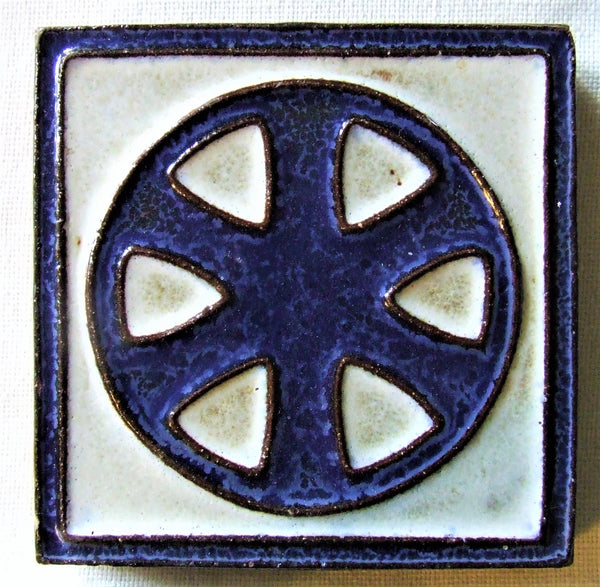 Vintage Arts Crafts Geometric tile