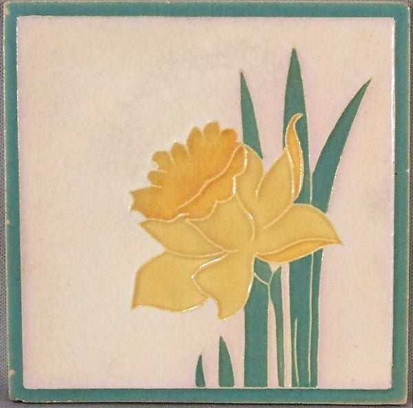 American Encaustic Tile Co. Daffodil