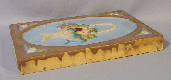 Cambridge Wheatley Tile Arts and Crafts Flower Basket