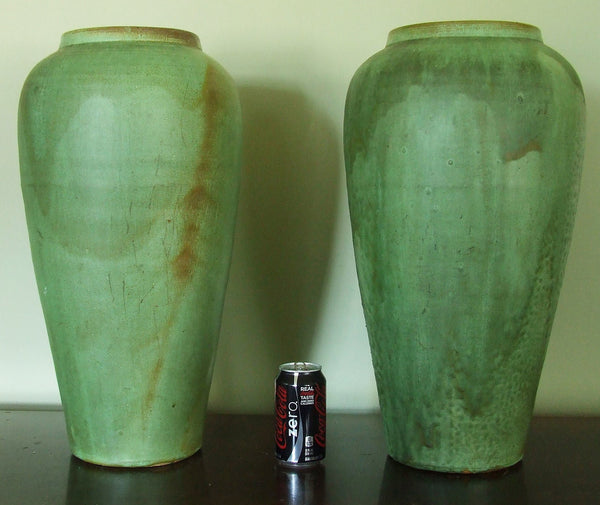 North Carolina Pottery Porch Vases Royal Crown