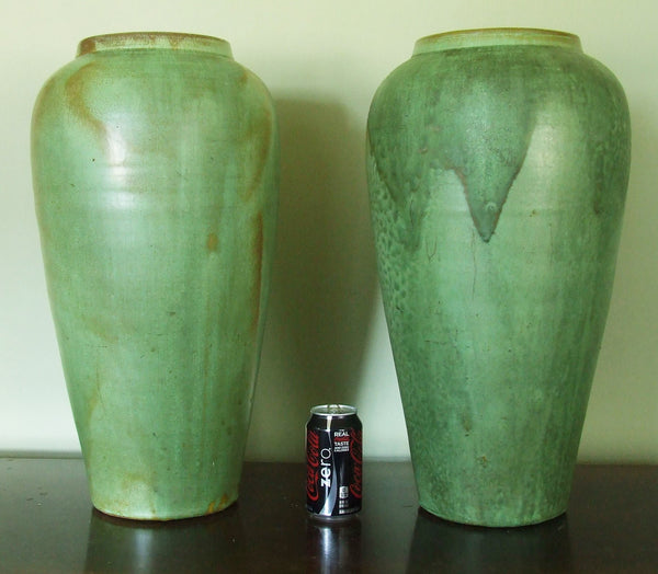 Vintage Hand Thrown Porch Vase North Carolina Pottery