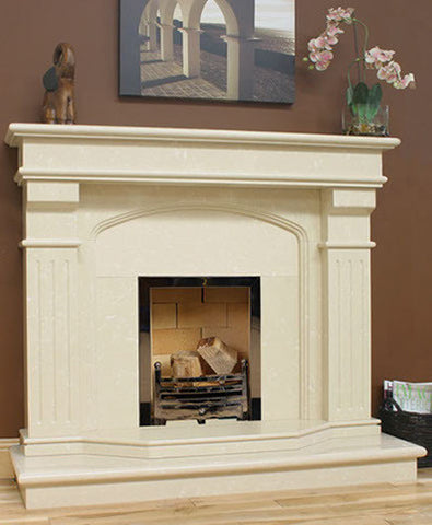 Bridge Marble Fireplace