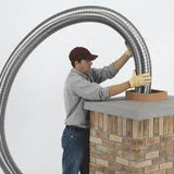 Chimney Flexi Flue Pipe 125mm Kit **Free Delivery** - BPM SUPPLIES