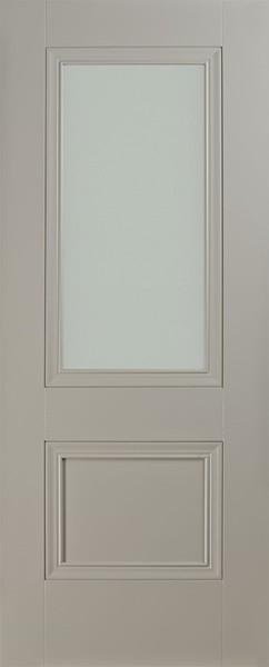 Silk Grey 1p lite frosted Door